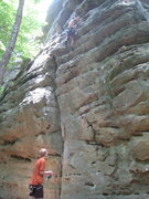 Rock Climbing Photo: smooth route