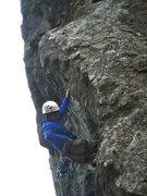 Rock Climbing Photo: Tom clipping his way through Porifera