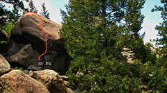 "Rock Climbing Photo: Photo beta for ""Mr. Big."""