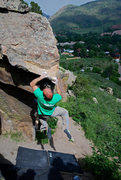 """Rock Climbing Photo: Wiley Evans is the """"Squirming Coil."""""""