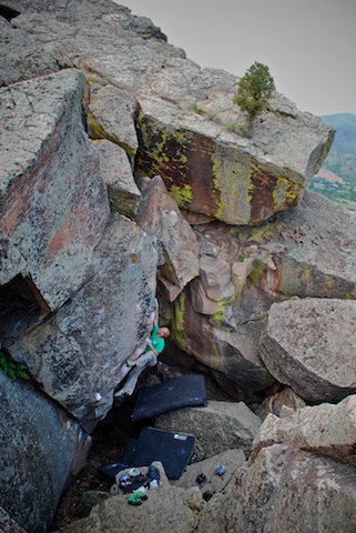 "Rock Climbing Photo: Wiley Evans feels no ""Rupture."""