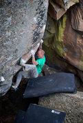 "Rock Climbing Photo: Wiley Evans feels no ""Rupture."""