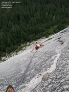 Rock Climbing Photo: Randy on P2