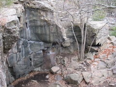 Rock Climbing Photo: Sizzlefoot Pit.