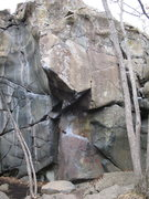 Rock Climbing Photo: Unnamed Prow. Climb the right side of this prow fr...