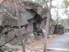 Rock Climbing Photo: The Sizzlefoot Wall.