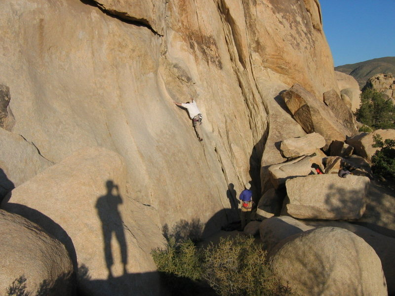 Rock Climbing Photo: double cross