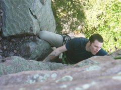 Rock Climbing Photo: Troy