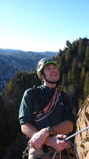 Rock Climbing Photo: at the belay on the super classic rewritten