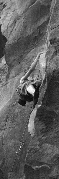 Rock Climbing Photo: otey on thin man