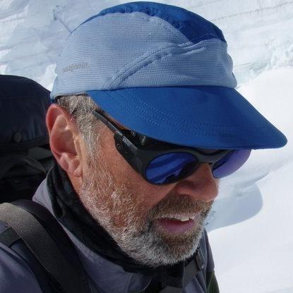 Rock Climbing Photo: Self Portrait from the Pika Glacier in Alaska (Lit...