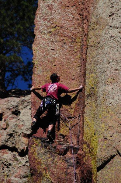 Rock Climbing Photo: the edge