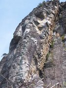 """Rock Climbing Photo: The red is the original """"Tall Order"""".  T..."""