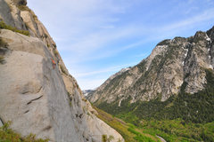 Rock Climbing Photo: Long shot of LCC and the Mexican Crack