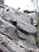 Rock Climbing Photo: The business half.