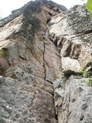 Rock Climbing Photo: This is what we went up.  I think it's the NE corn...