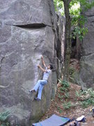 Rock Climbing Photo: RV getting after it.
