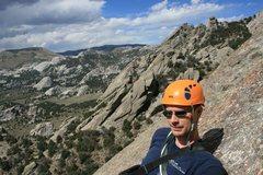 Rock Climbing Photo: Second Pitch of Jackson's Thumb City of Rocks