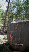 "Rock Climbing Photo: Photo Beta for ""Acceleration."""