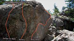 "Rock Climbing Photo: Photo beta for 'Beta Slam."""