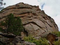 Rock Climbing Photo: The south face of South Rock.