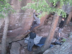 Rock Climbing Photo: Misha on Balance in Nature.