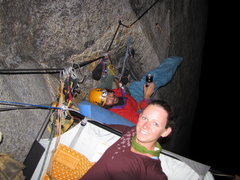 Rock Climbing Photo: Mid p-7 on Lurking Fear.