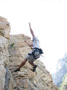 Rock Climbing Photo: Taking a fall