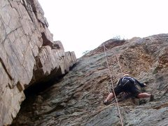 Rock Climbing Photo: CE on Six Appeal