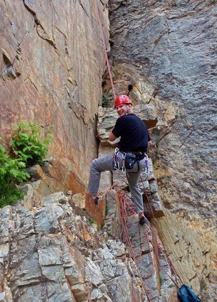 Rock Climbing Photo: JB