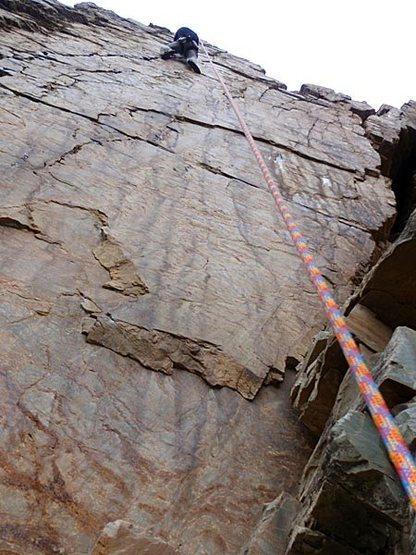 Rock Climbing Photo: A cake walk for JB