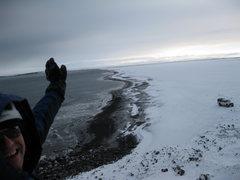 Rock Climbing Photo: Ice Bjorg