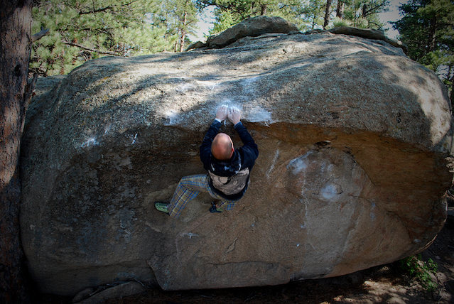 Rock Climbing Photo: Wiley Evans crushing Pac-Man for the send!!!