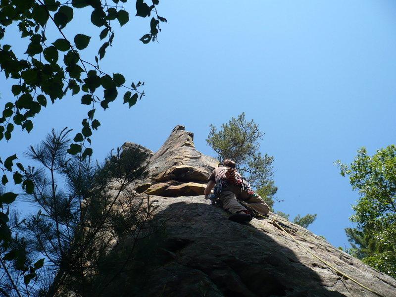 Rock Climbing Photo: Easy and fun