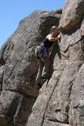 Rock Climbing Photo: Noelle on Kindergarden Cop 5.9.