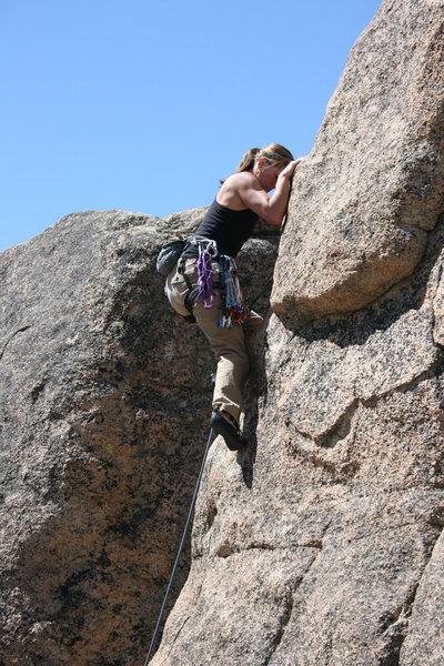 Rock Climbing Photo: Noelle Kindergarden Cop 5.9