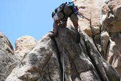 Rock Climbing Photo: Albert on Step Child 5.8