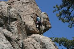 Rock Climbing Photo: Agina on Step Child 5.8