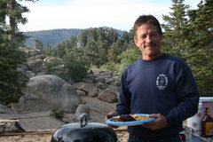 Rock Climbing Photo: Our cook Melon. Great BBQ Thanks.
