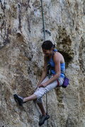 Rock Climbing Photo: A common ending for the project-er. What an amazin...