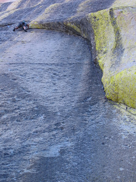 Rock Climbing Photo: Planet Waves, 5.11    A masterpiece of stemming & ...