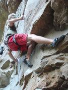 "Rock Climbing Photo: ""Love Slave"" 5.11c, Horseshoe Canyon Ran..."