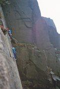 Rock Climbing Photo: Climbers on Embankment 2 and 3
