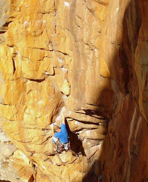 Rock Climbing Photo: Josh Laitila on Scorpion Corner