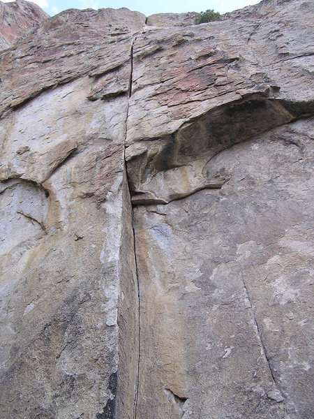 Rock Climbing Photo: The line...