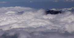 Rock Climbing Photo: Keller Peak - An Island in the Clouds.  Picture ta...