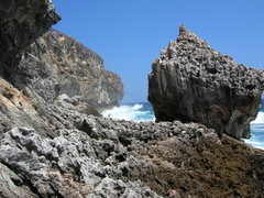 Rock Climbing Photo: looking towards wave wall