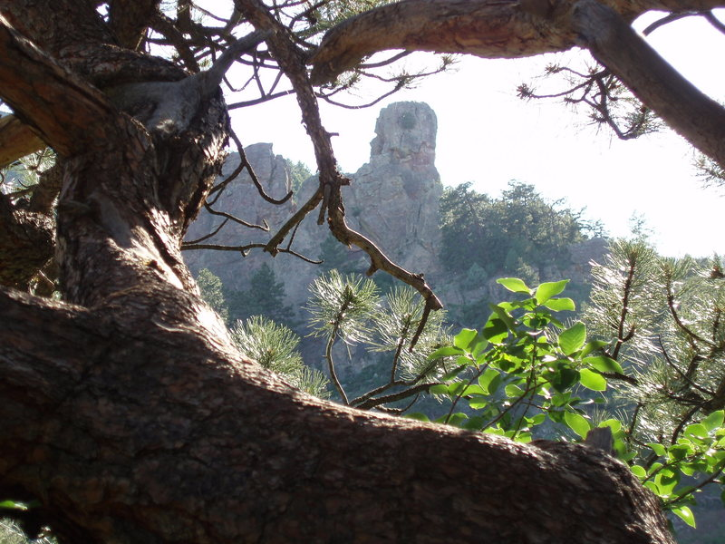 Rock Climbing Photo: Gregory Canyon Amphitheater