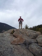 Rock Climbing Photo: Summit of Skinner Mtn.