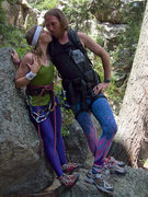 Rock Climbing Photo: Spandex and Traddie Day - Jackie and Hank: Spandex...